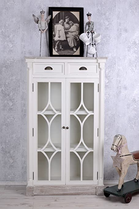 Tall Cabinet, Cupboard, Showcase, Shabby Chic, Palazzo Exclusive
