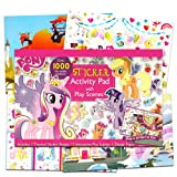 My Little Pony Ultimate Sticker Activity Book for Girls Kids Toddlers -- Giant Sticker Pack with Play Scenes and Over 1000 Reusable Stickers, Puzzles, Games and More (My Little Pony Party Supplies) (Color: My Little Pony, Tamaño: My Little Pony Coloring Book)