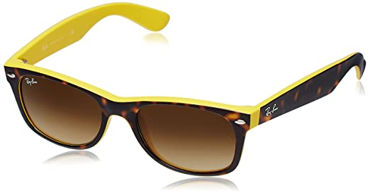 Ray Ban Wayfarer Sunglasses Tortoise RB2132|6014/8552 available at Amazon for Rs.