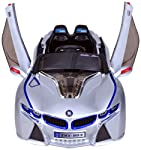 Jay Battery Operated Ride on Sports Car Grey