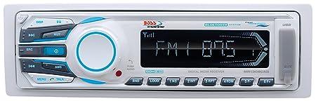 Boss Audio Systems MR1308UAB Autoradio CD/DVD Blanc
