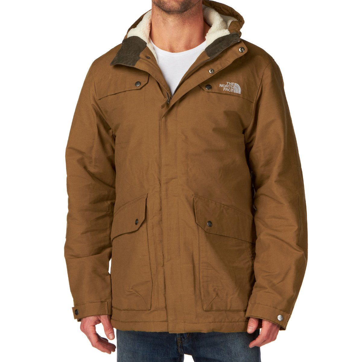 The North Face Men's Katavi Jacket utility brown jetzt bestellen