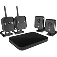 Zmodo 4-Channel 720p Wireless Mini NVR Kit with 4 IP Cameras and 1TB HDD