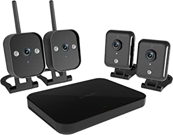 Zmodo 4-Ch. 720p Wireless Mini NVR Kit w/4 IP Cameras
