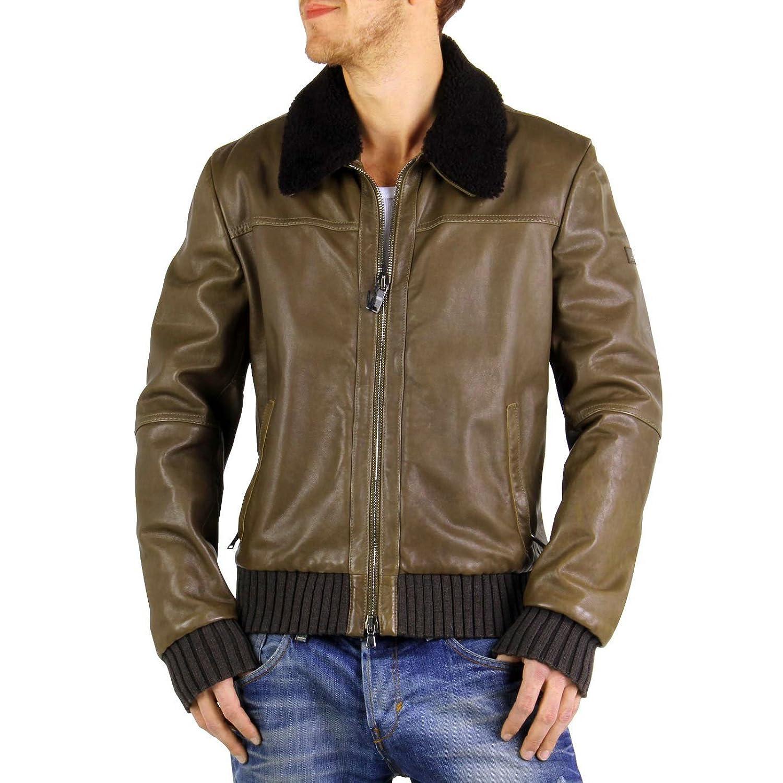 PEUTEREY Herren Winter Lederjacke Arbat Verde 0918 günstig online kaufen