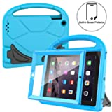 AVAWO Kids Case Built-in Screen Protector for iPad 2 3 4 - Shockproof Handle Stand Kids Friendly Compatible with iPad 2nd 3rd 4th Generation (Blue) (Color: Blue, Tamaño: for iPad 2 3 4 Tablet)