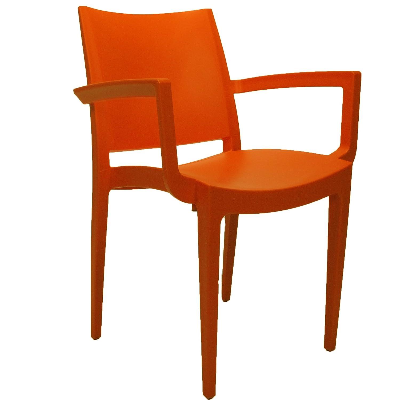Veloso Gartenstuhl orange günstig kaufen