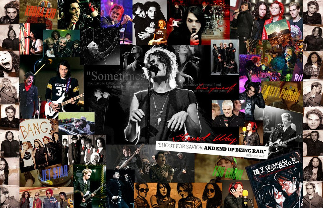 My Chemical Romance poster 20 inch x 13 inch