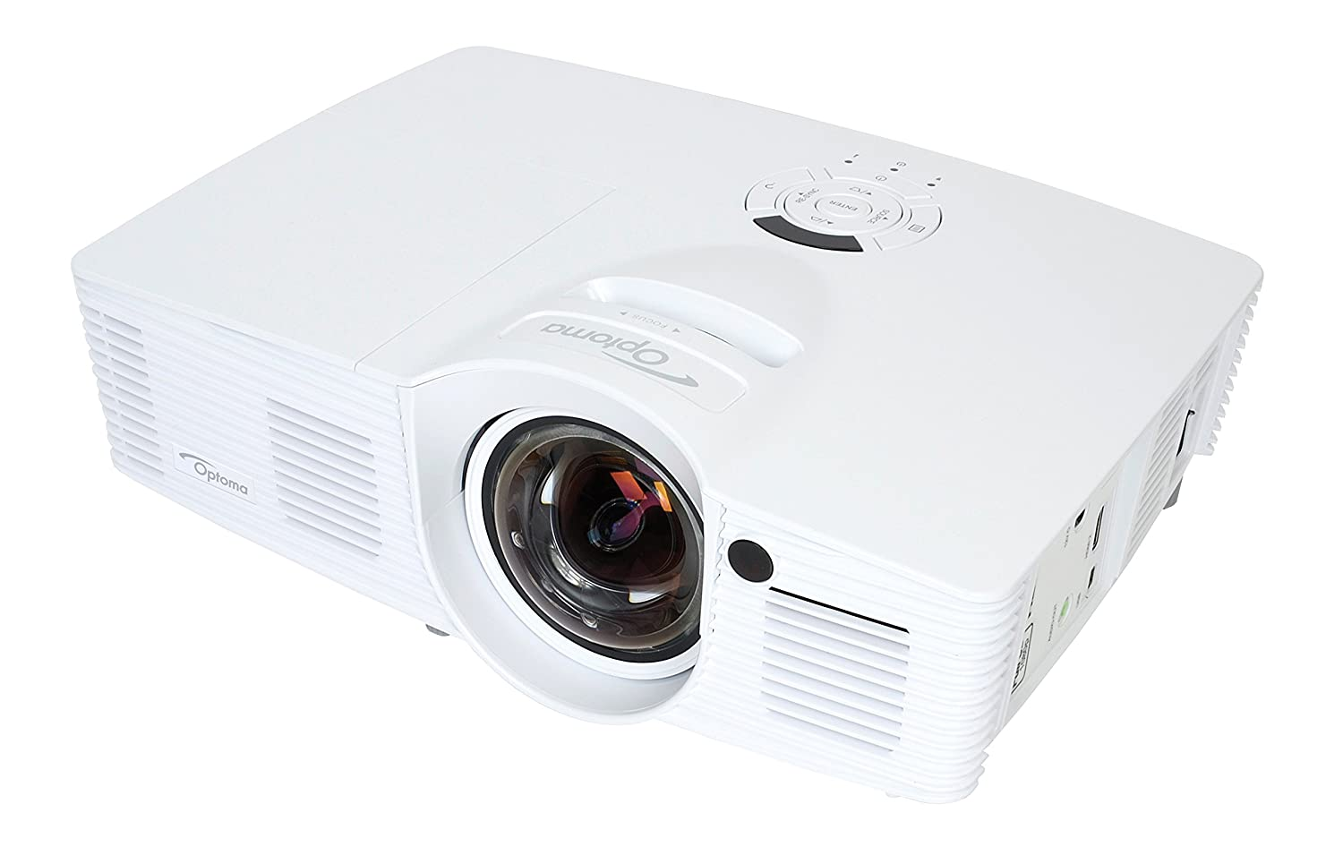 Optoma GT1080 Full 3D 1080p 2800 Lumen DLP Gaming Projector with MHL Enabled HDMI Port ready for PS4 and Xbox One