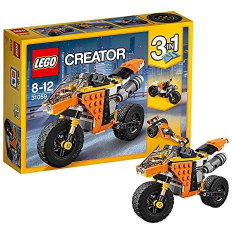 LEGO - 31059 - Creator - Jeu de Construction - La Moto Orange