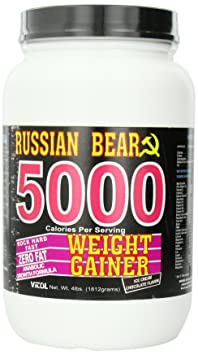 Vitol Russian Bear 5000, Ice Cream Chocolate 4-Pounds