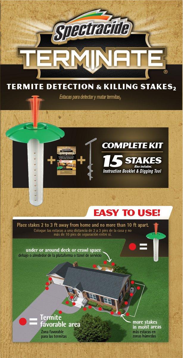 Amazon.com : Spectracide Terminate Termite Detection and Killing ...