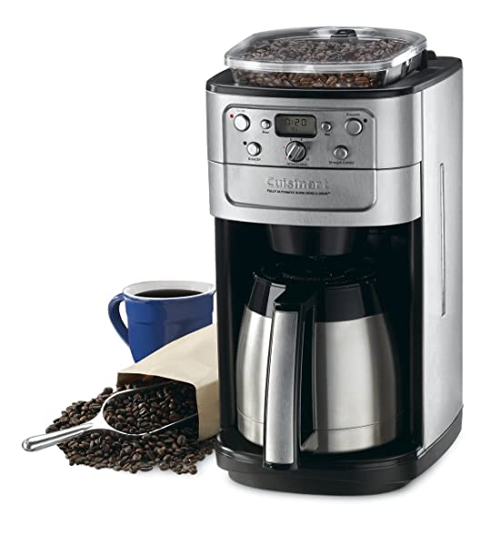 Cuisinart DGB-900BC Grind & Brew Thermal 12-Cup Automatic Coffeemaker Via Amazon