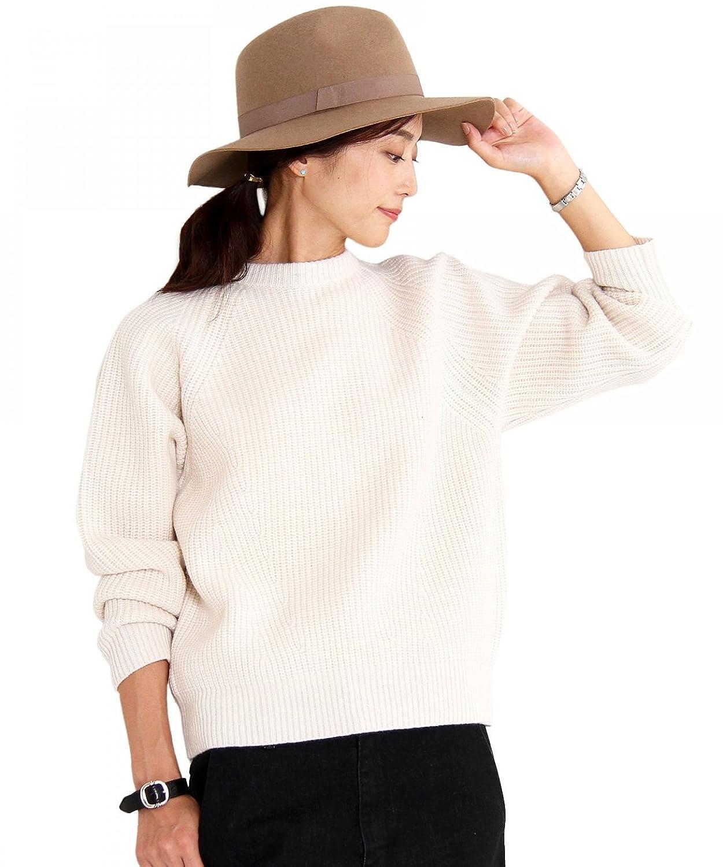 (ビューティアンドユース) BEAUTY&YOUTH BY HAMILTON WOOL MIX アゼプルオーバーニット 16131042517 NATURAL FREE : 服&ファッション小物通販 | Amazon.co.jp
