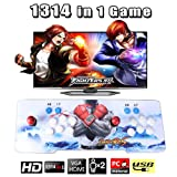 Slendor Pandora's Box 5 Arcade Game Console 1314HD In1 Retro Double Arcade Joystick Support PC & TV VGA HDMI Output