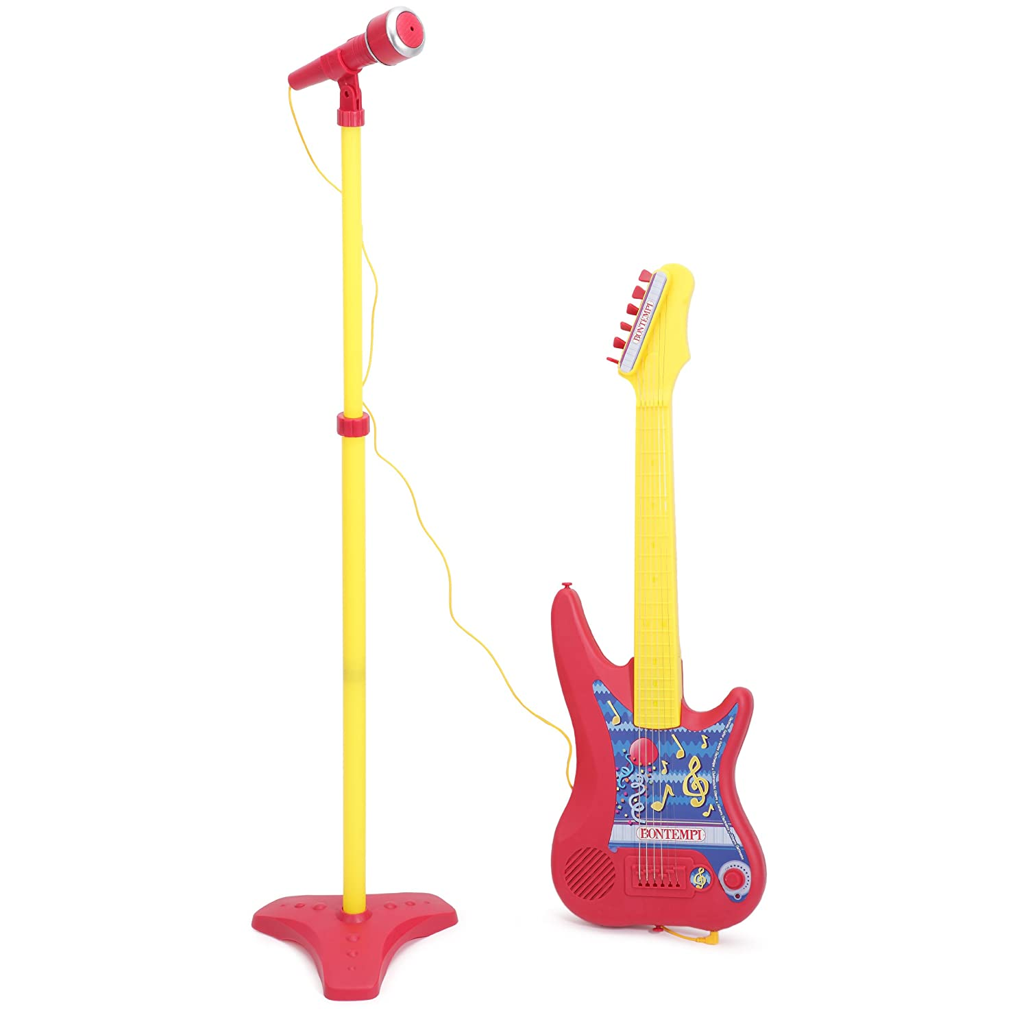 hey music musique micro guitare rose jouets instruments musicaux pour enfant achat en. Black Bedroom Furniture Sets. Home Design Ideas