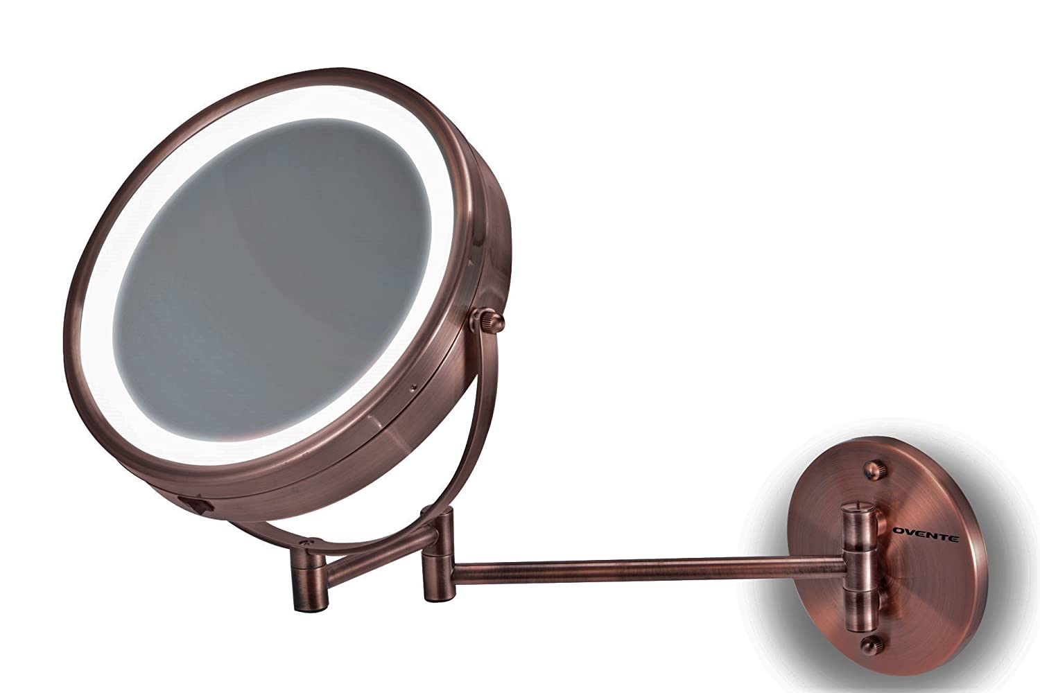 Ovente Mfw85co Led Surround Lighted Wall Mount Vanity