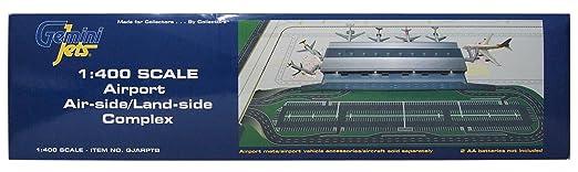 Gemini Jets Aéroport Air-côté Terre-côté Complex 1/400 Echelle Terminal GJARPTB