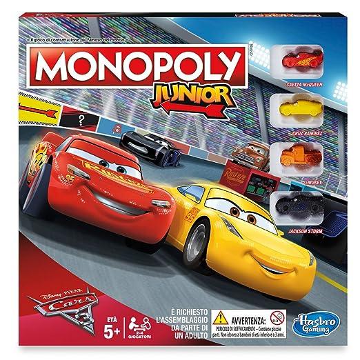 HASBRO Monopoly junior Cars - Jeux Société