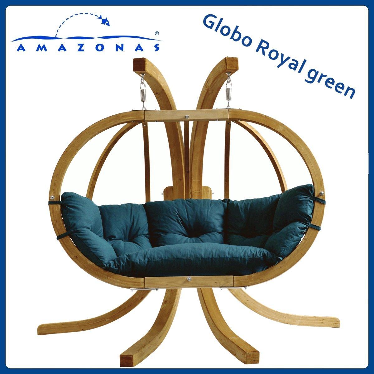 Balancelle GLOBO ROYAL Vert avec support kaufen