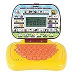 Prasid Smart Lovely English Learner Kids Laptop, Yellow/Brown