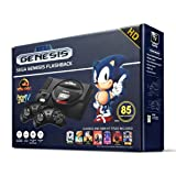 Sega Genesis Flashback HD 2017 Console 85 Games Included (Certified Refurbished) (Color: Black)