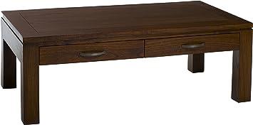 Nomades Design  500963 Table basse avec 2 Tiroirs Bois/Contreplaqué 60 x 110 x 40 cm