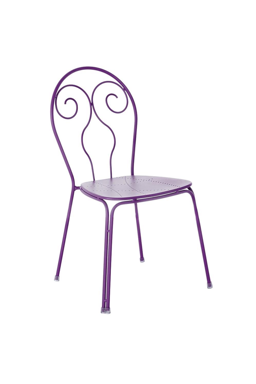 Emu 309308200 Caprera Stuhl 930, pulverbeschichteter Stahl, 4-er Set, lila günstig