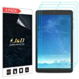 [3-Pack] Alcatel A30 Tablet 8 inch Screen Protector, J&D Premium HD Clear Film Shield Screen Protector for Alcatel A30 Tablet 8 inch (Color: 3 Packs)