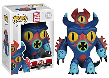 Funko - Fun4660 - Pop - Disney - Big Hero 6 - Fred