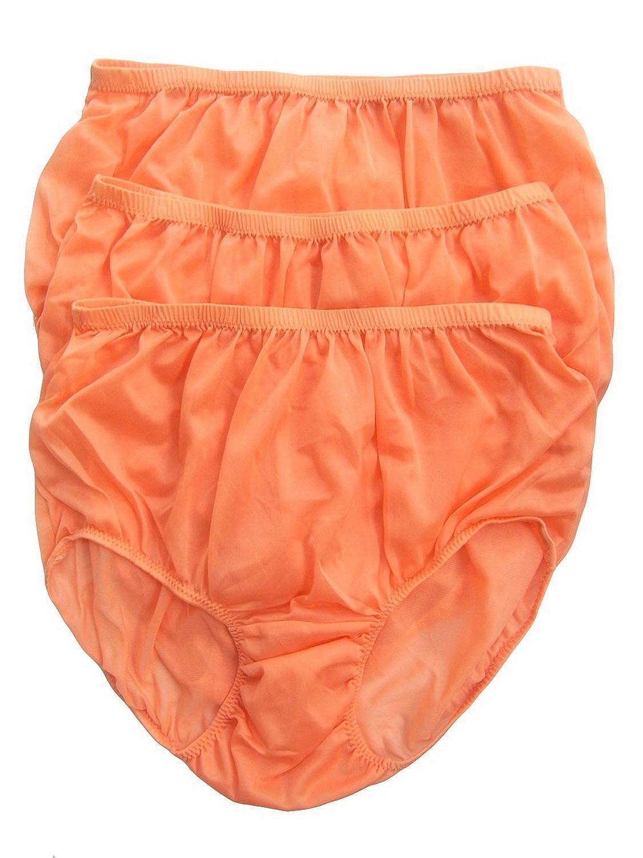 Höschen Unterwäsche Großhandel Orange Los 3 pcs LPKOR Lots 3 pcs Wholesale Panties Nylon günstig kaufen