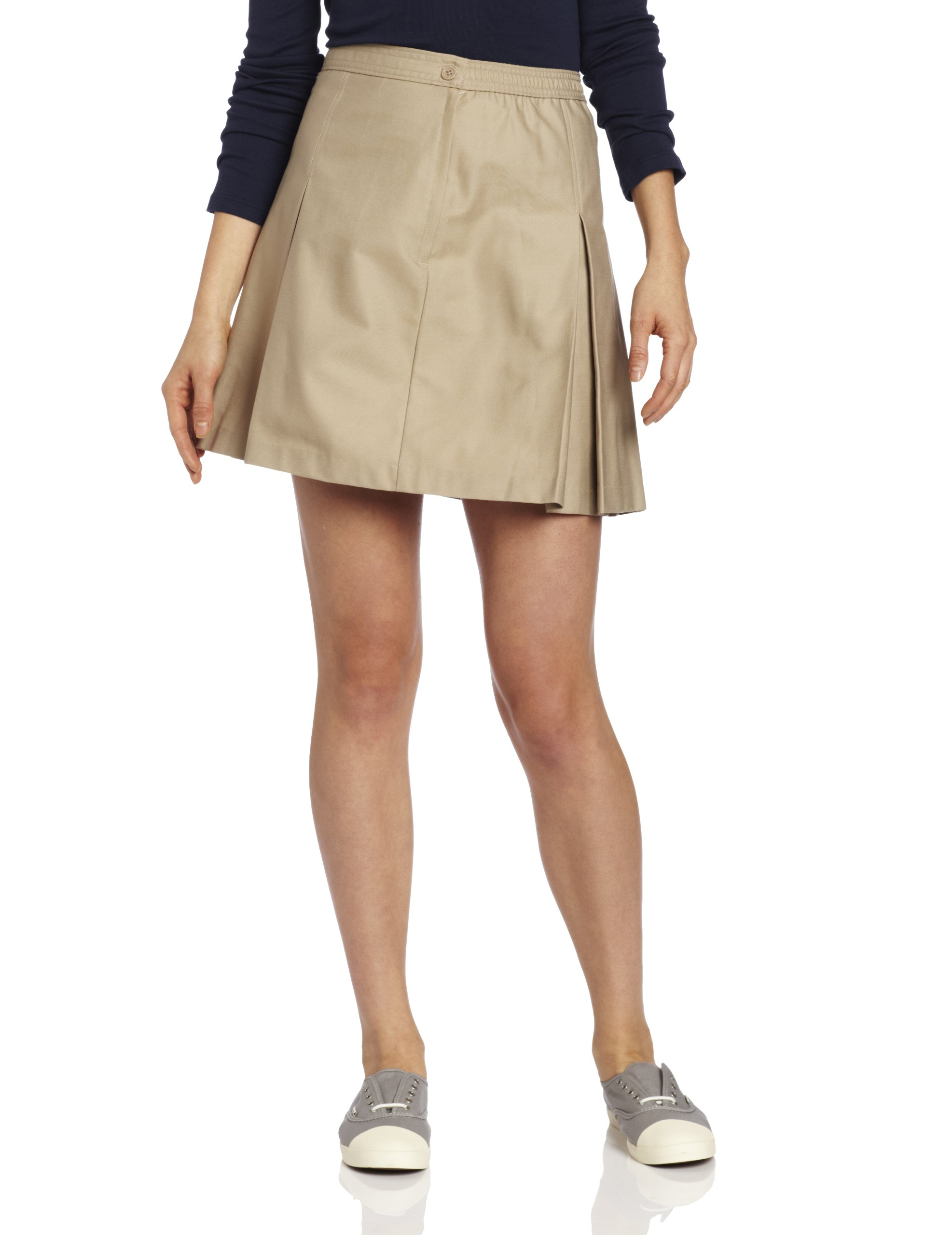 Classroom Uniforms 55864 Junior's Kick Pleat Skirt