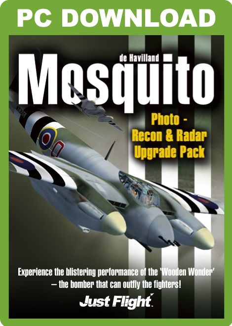 Mosquito Photo-Recon & Radar - Upgrade Pack B [Download]