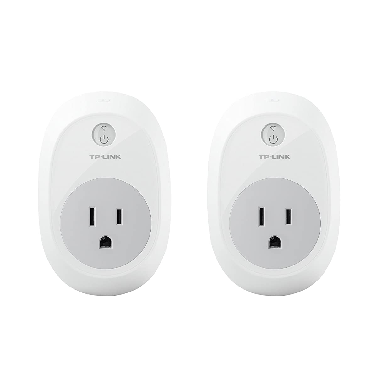TP-Link HS100 Smart Plug (2-Pack), No Hub Required, Wi-Fi, Works with Alexa, Control Your Devices from anywhere (HS100 KIT)