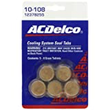 Genuine GM (12378255) Fluid 3634621 Cooling System Seal Tablet - 4 Grams, (Pack of 5) (Color: Regular, Tamaño: Pack of 5)