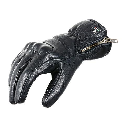 V Quattro Design V4G-ETON15-BKXL Gants de Moto, Noir, 10