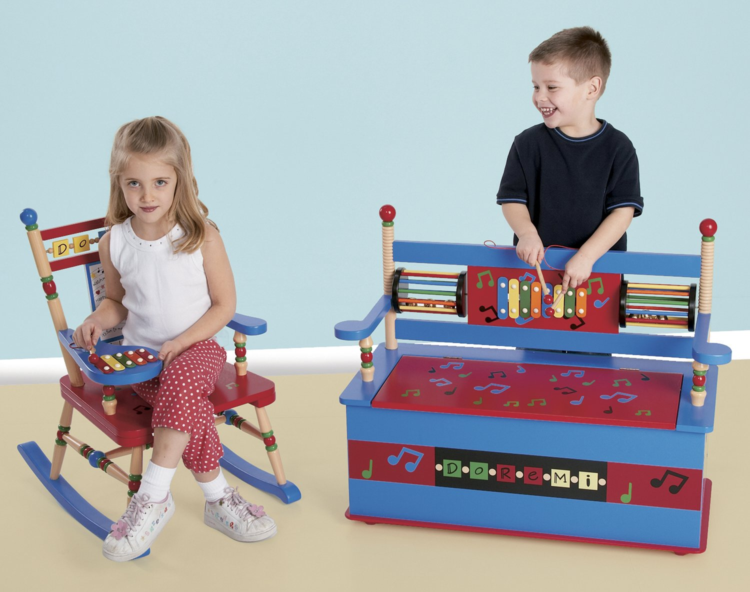 Box Bench Musical Toy
