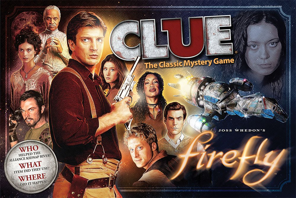VA Viper: Just in time for Christmas: Firefly Clue, Serenity Yahtzee ...