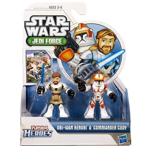 Playskool Heroes Star Wars Jedi Force 2-Pack - Obi-Wan Kenobi and Commander Cody