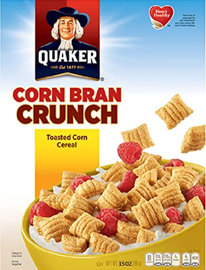 Quaker Corn Bran Crunch