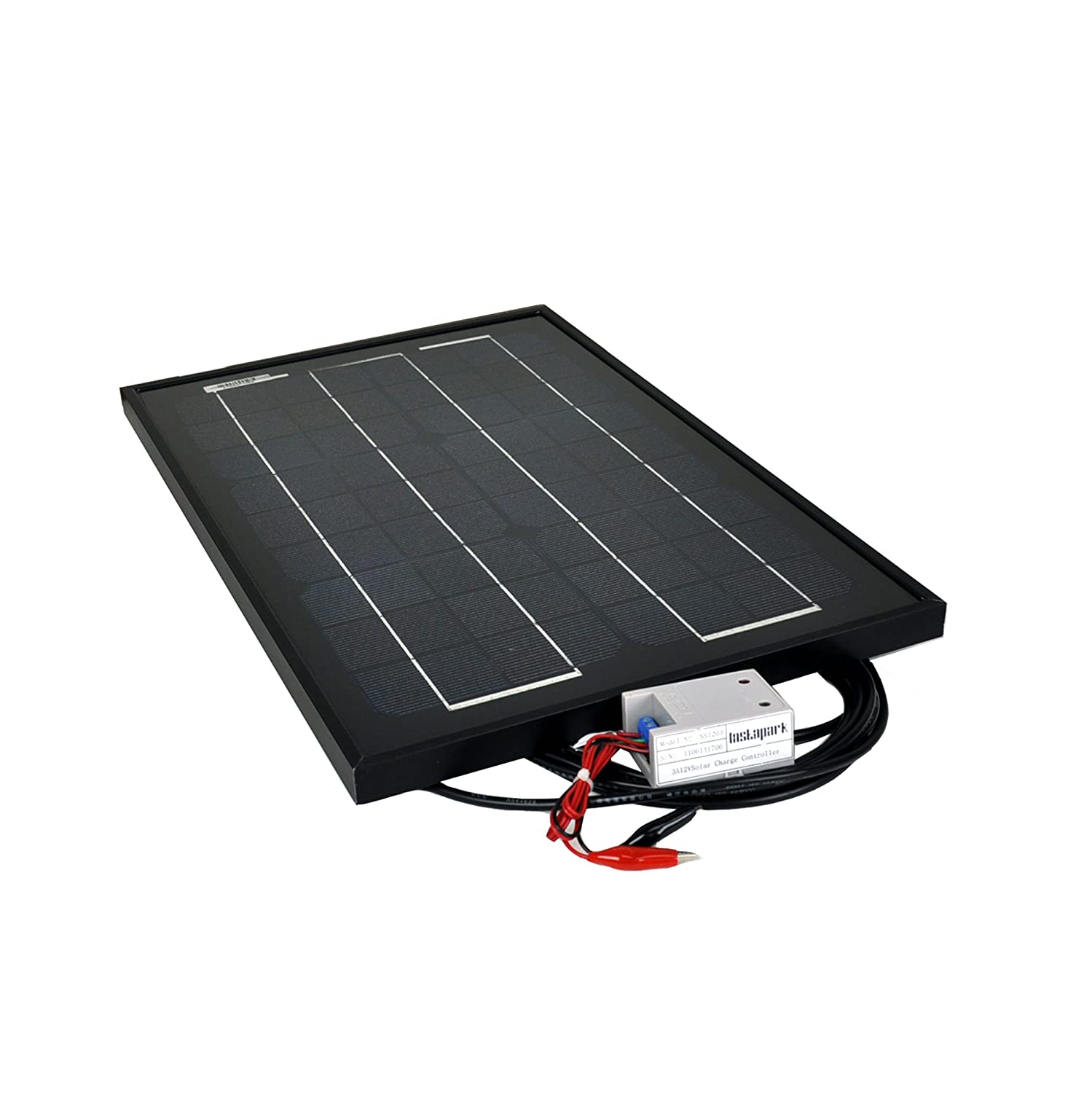 Instapark 15W Monocrystalline Solar Panel + 12V solar charge controller Review