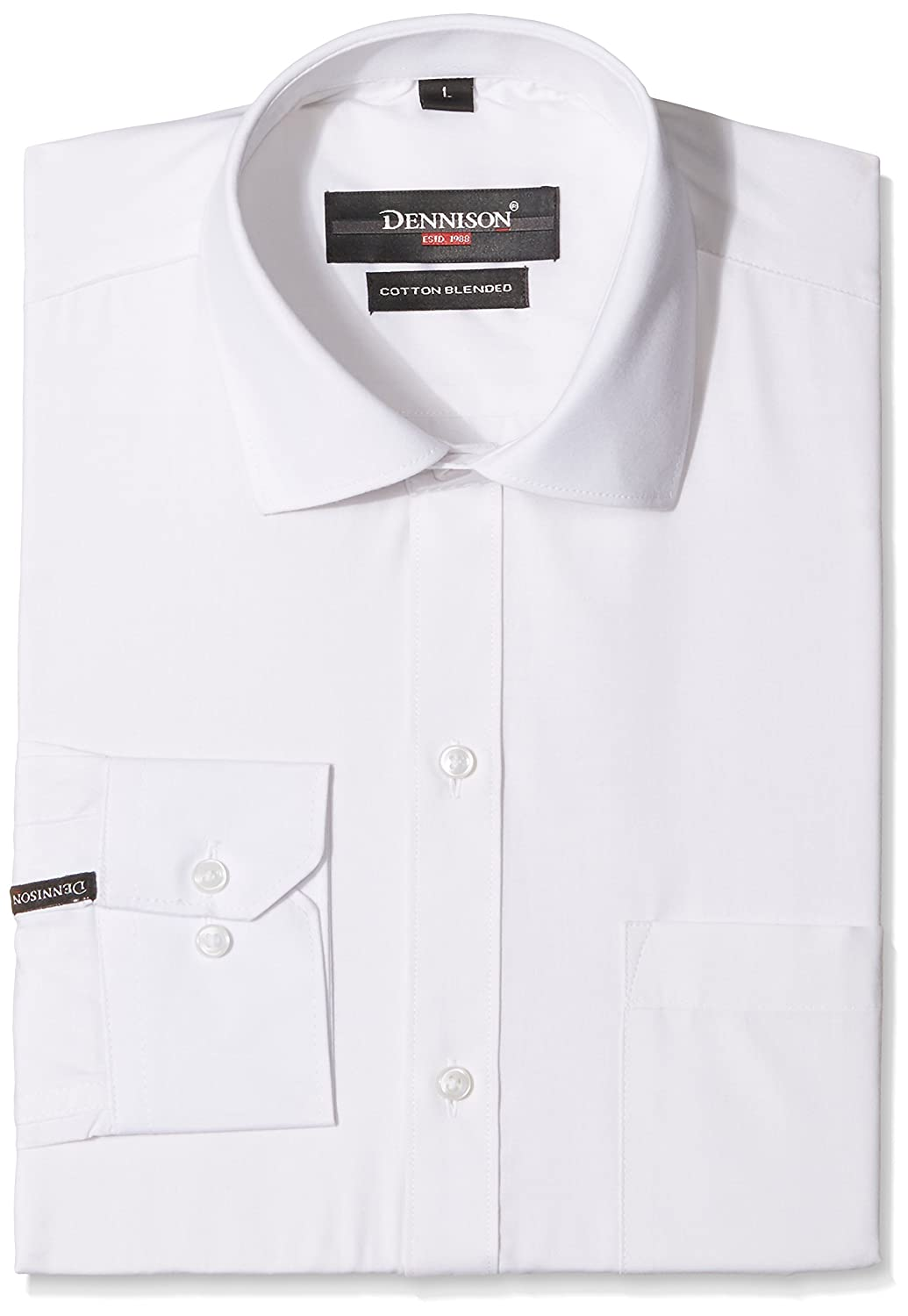 Amazon Fashion!! 50% - 70% Off On Men's Clothing | Dennison Men's Formal Shirt @ Rs.593