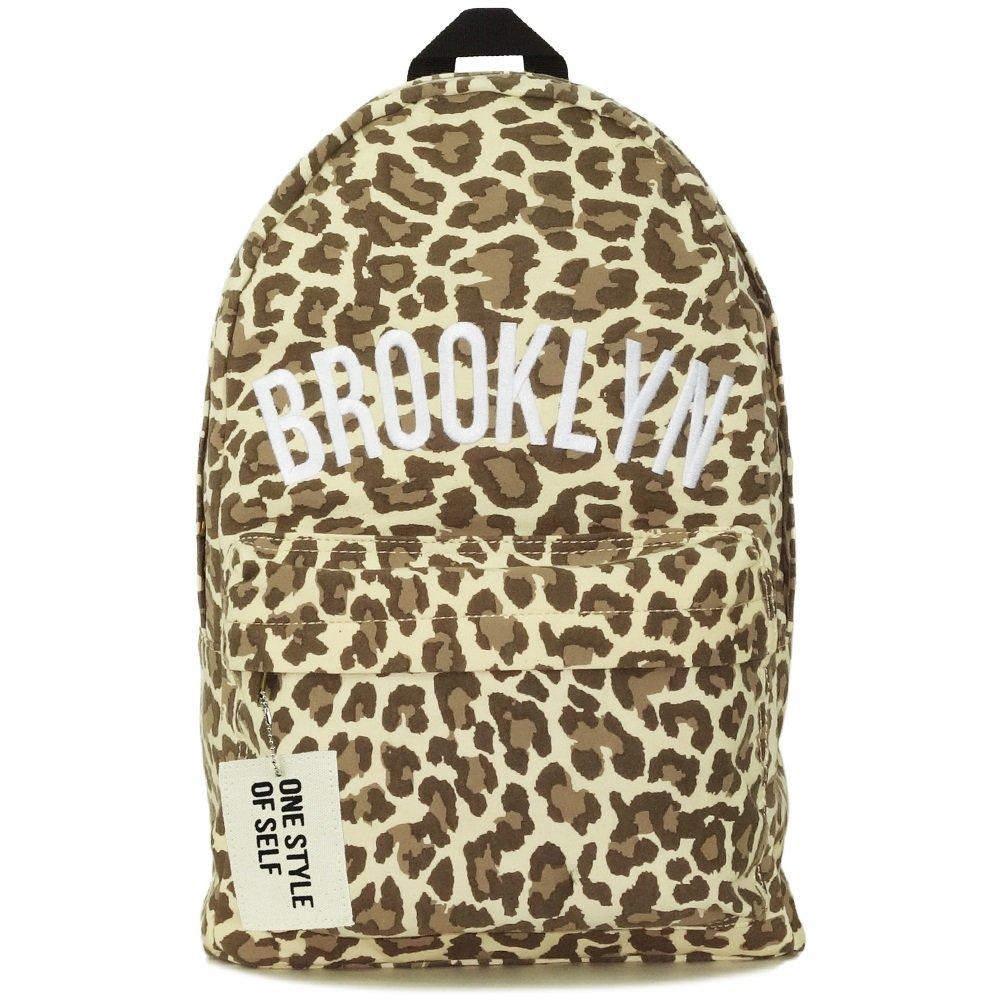 Amazon.co.jp: リュックサック おしゃれ レディース 通学 かわいい 軽量 大容量 ブルックリン デイパック F ミックスブラック: シューズ&バッグ:通販