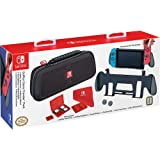 Goplay Game Traveler Pack, Premium Hard Case Made With Ballistic Nylon, Bonus: Two Multi-Game Cases, Cloth & Thumb Covers, Black - Nintendo Switch (Color: Black)