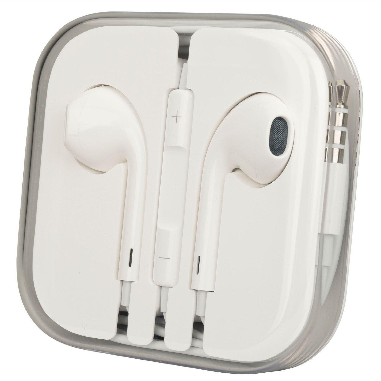 Earphones for Apple Iphone 5 (White)