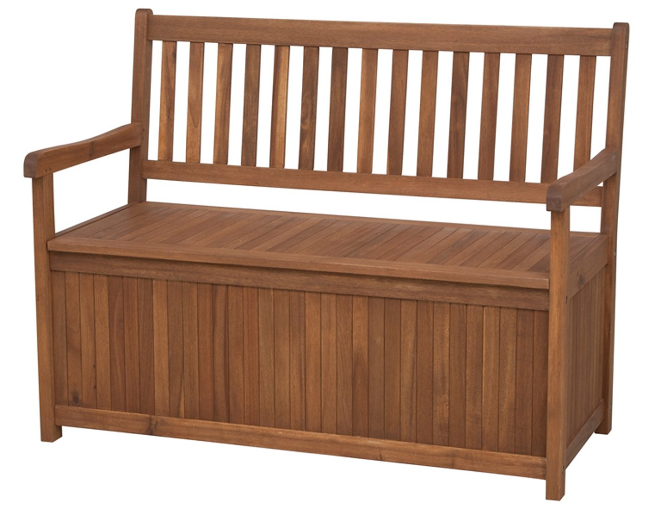 Siena garden 800520 melton banco madera de acacia y for Bancos de jardin con almacenaje