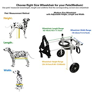 LXJYMX Pet Prosthesis Dog Wheelchair Rear Limb Disability ?? pet Scooter hind Leg Assist (Color : A, Size : S) (Color: A, Tamaño: S)