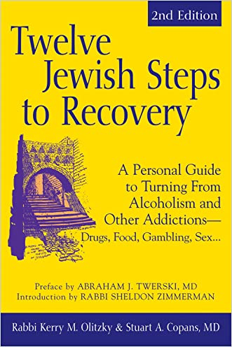 Twelve Jewish Steps to Recovery: A Personal Guide to Turning From Alcoholism and Other AddictionsDrugs, Food, Gambling, Sex... (The Jewsih Lights Twelve Steps Series)