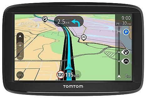 """TomTom Start 52 Ecran GPS Auto Europe 45 Cartographie à Vie 5"""" Noir/Anthracite Produit Import"""
