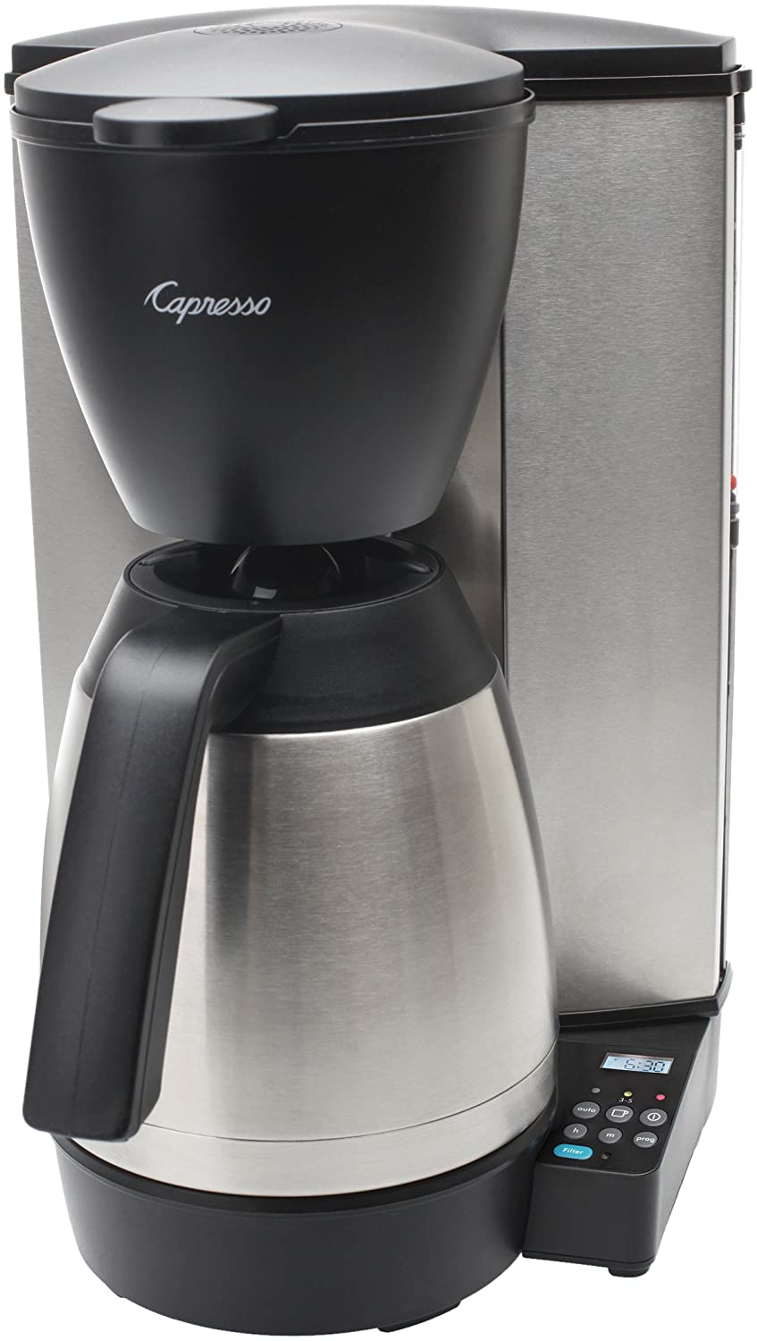 Capresso Coffee Maker 485.05: The Elegant 10 Cup Kitchen Addition